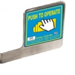 Spare Push Plate-SS