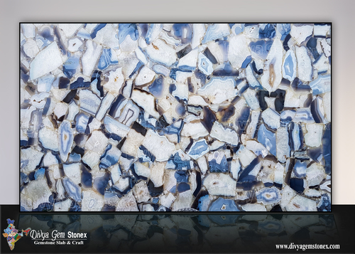 Wild Grey Agate Stone Slab