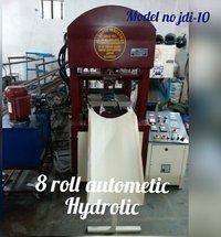 Triple cylinder 8 roll automtic hydraulic machine