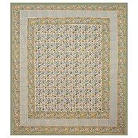 Jaipuri Design Hand Block Printed Sanganeri Bed sheets / Wholesale Bedsheets with pillows