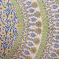 Hand Block Printed Jaipuri Design Mandala Sanganeri Bedsheets / Wholesale Bedsheets with pillows