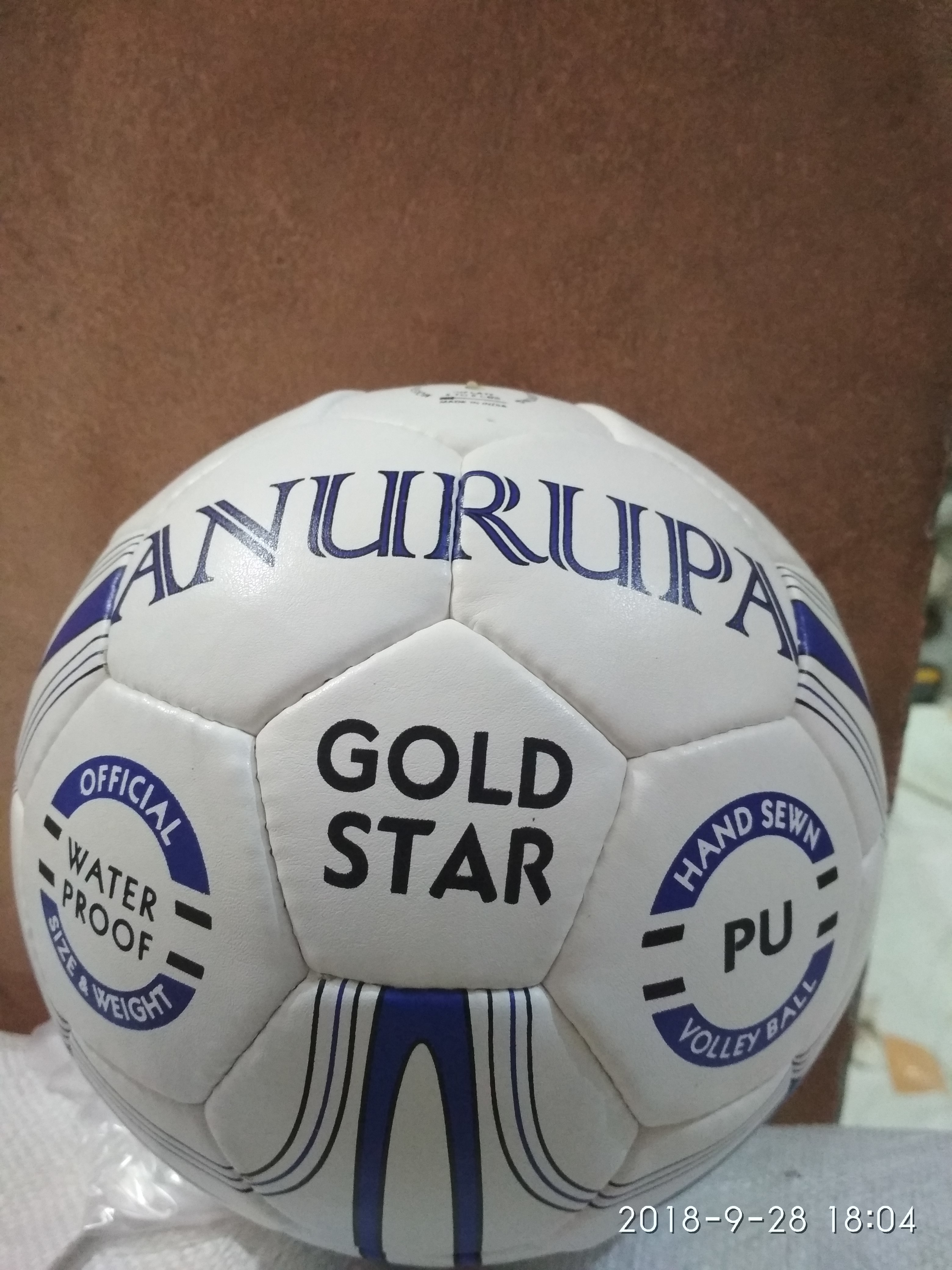 PU Volley Ball Gold Star