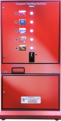 Compact Vending Machine For Sanitary Napkins , Condom Boxes And Maternity Pad Vending .