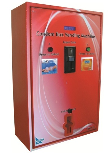 Condom Box Vending Machine