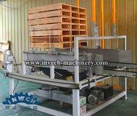 Wood Pallet Stacking Machine