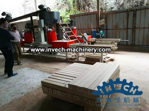 Automatic Wood pallet Block Production Line