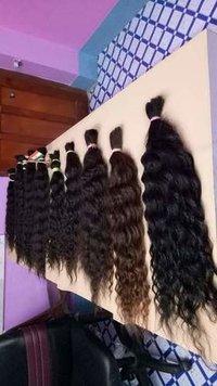 Raw Indian bulk curly hair
