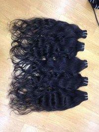 Raw virgin natural wavy hair