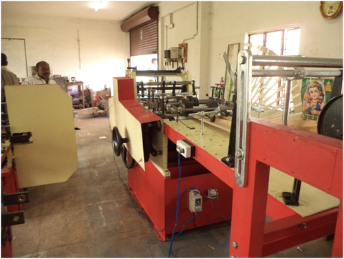 Food n Bakery Paper Cover Making Machine