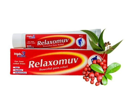 Relaxomuv Gel (Powerful Pain Reliever)