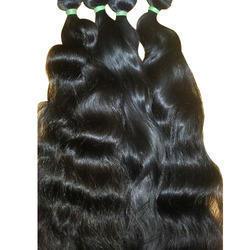 Black Temple Hair