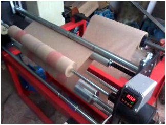 Use and Throw Paper Roll Printing Machine