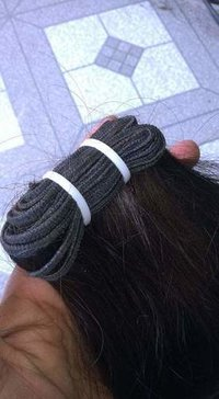 Unprocessed virgin weft hair
