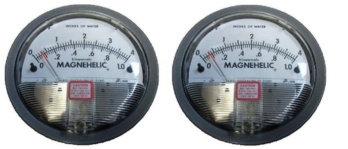 Dwyer 2004D Magnehelic Differential Pressure Gauge