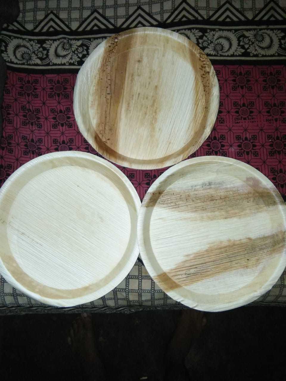 Biodegradable Areca Leaf Plates