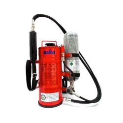 Water Mist and CAF Fire Extinguisher BackPack