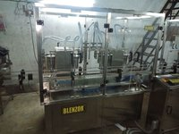 8 Head Lubricant Filling Machine
