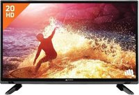 Micromax 50cm (20 inch)Ton 3 Star : For energy savings upto 15% (compared to Non-Inverter 1 Star) Auto Restart: No need to manually reset the settings post power-cut Copper : Energy efficient, best in class cooling with easy maintenan HD Ready LED TV