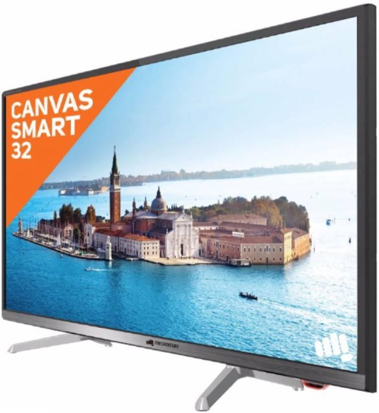 Micromax 81cm (32 inch) HD Ready LED Smart TV