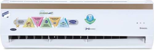 Carrier Hybridjet 1.5 Ton 5 Star BEE Rating 2018 Inverter AC - White  (Copper Condenser)