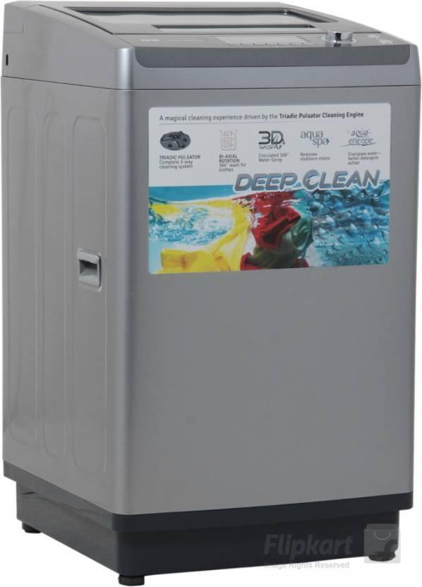 IFB 7 kg Fully Automatic Top Load Washing Machine Grey