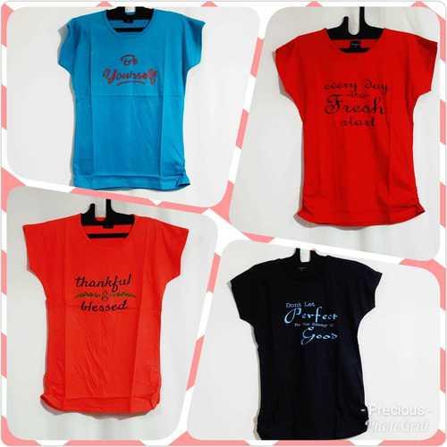 Causal Print T shirts