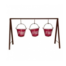Fire Bucket Stand With...