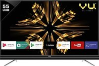 Vu Android 140cm (55 inch) Ultra HD (4K) LED Smart TV