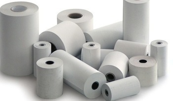 White Thermol Paper Roll