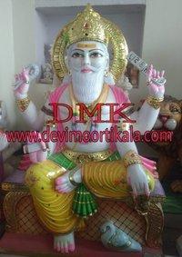 Vishkarma statue