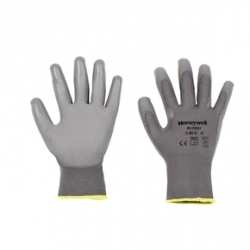 PU First Grey Gloves
