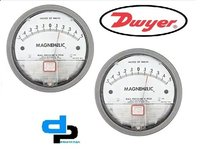 Dwyer USA Magnehelic Gauges 0.5-0-0.5 Inch WC