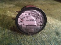 Dwyer 2002- AV Magnehelic Differential Pressure Gauge