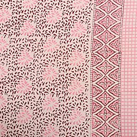 Jaipuri Design Hand Block Printed Sanganeri Wholesale Bedsheets with Pillows tapestry