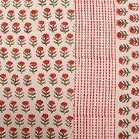 Bedsheets Jaipuri Design Hand Block Printed Sanganeri Wholesale Bedsheets with pillows
