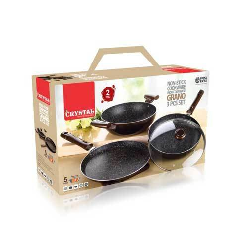 Grano 3 Piece Cookware Set