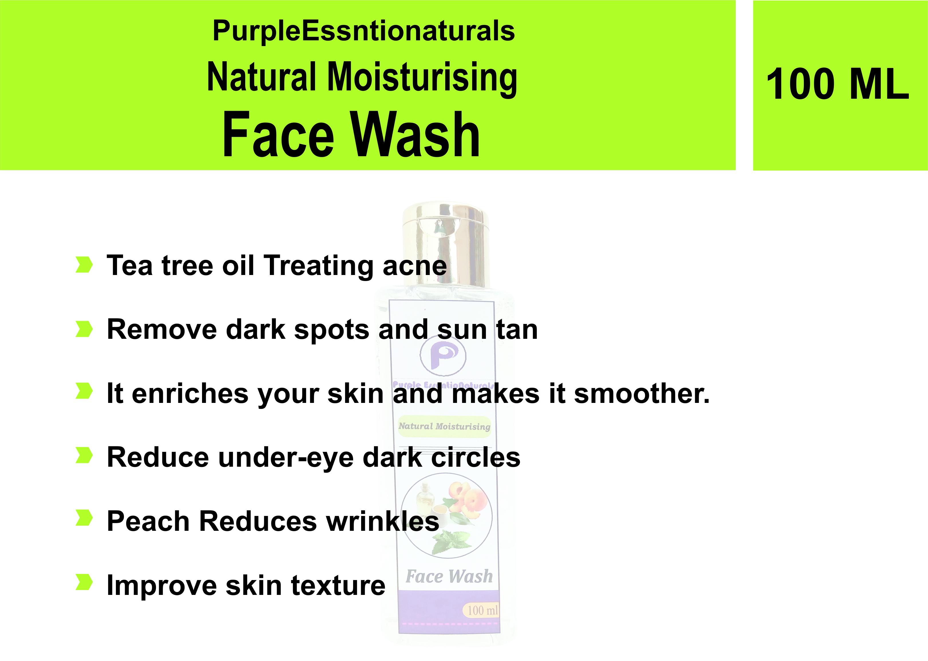 Natural Moisturizing face wash