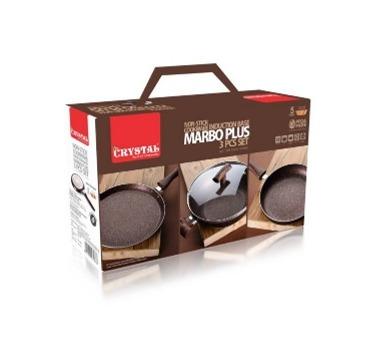 Marbo Plus 3 Piece Cookware Set