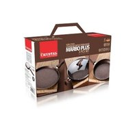 Marbo Plus 3 Piece Cookware Set