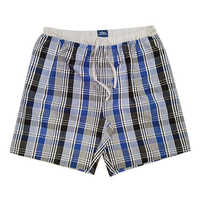 Mens Cotton Check Shorts