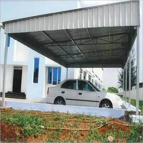 Fabricated Car Parking Shed