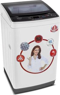 Intex 6.5 kg Fully Automatic Top Load Washing Machine Black