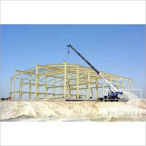 Pre Engineered Fabricated Structure Shed