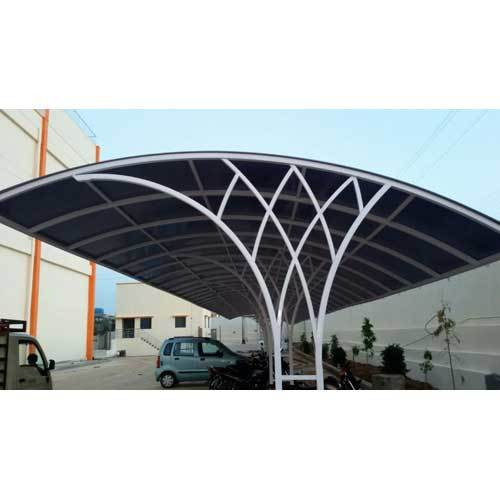 Coated Car Parking Shed