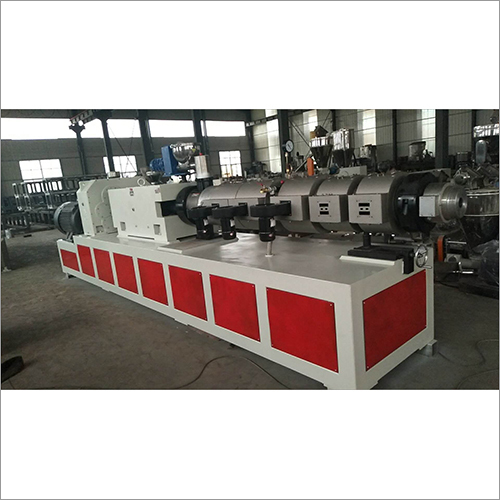Twin Conical Screw Extruder Machine