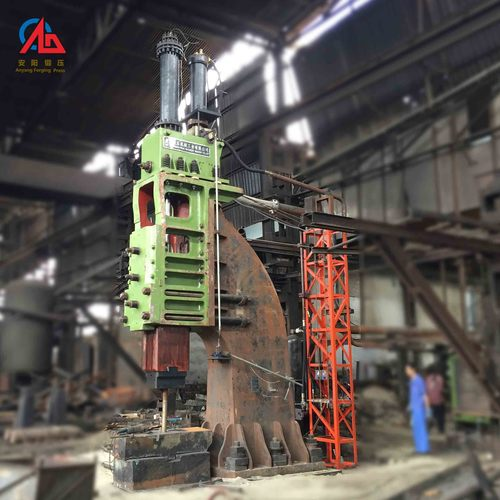 Hydraulic die forging hammer single arm type for open die forging