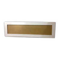 Rectangular Shape Panel Light Housing