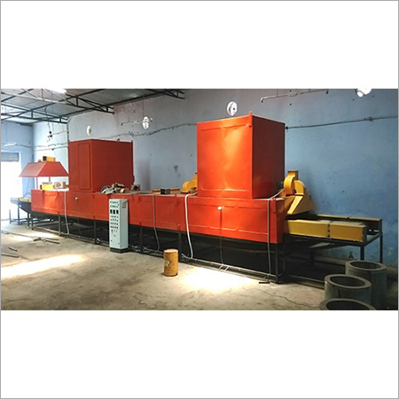 Oil Fired Conveyor Oven