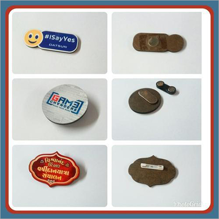 MDF Name Badge & Logo Badge