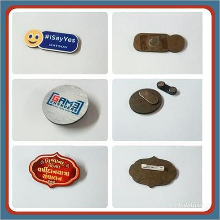 MDF Name Badge & Logo Badge